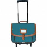 Cartable trolley Maël vert