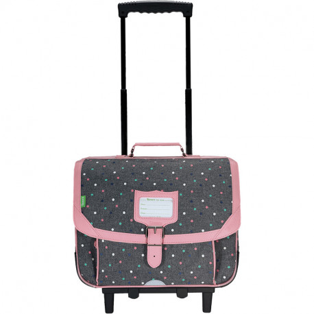 Cartable trolley Lou chiné