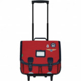 Cartable trolley Tom rouge