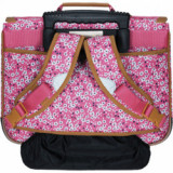 Cartable trolley Rose fleuri