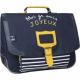 Cartable Joy marine Café Joyeux X Tann's