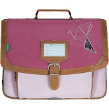 Cartable Ninon rose