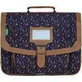 Cartable Emma fleuri