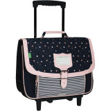 Cartable trolley Jodie marine