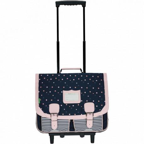 Cartable trolley Jodie marine
