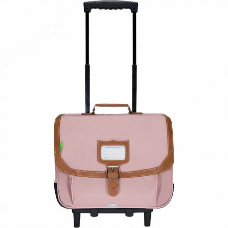Cartable trolley Diane rose