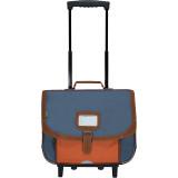 Cartable trolley Rafaël bicolore