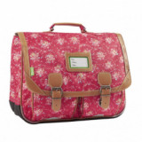 Cartable London fraise