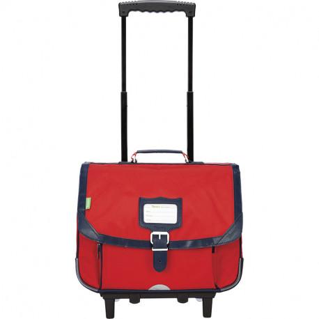 Cartable trolley Éden rouge