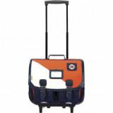 Cartable trolley Martin orange