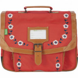 Cartable Andréa rouge