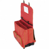 Cartable trolley Andréa rouge