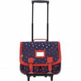 Cartable trolley Alice marine
