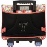 Cartable trolley Adèle rose