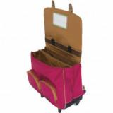 Cartable trolley Alia bicolore