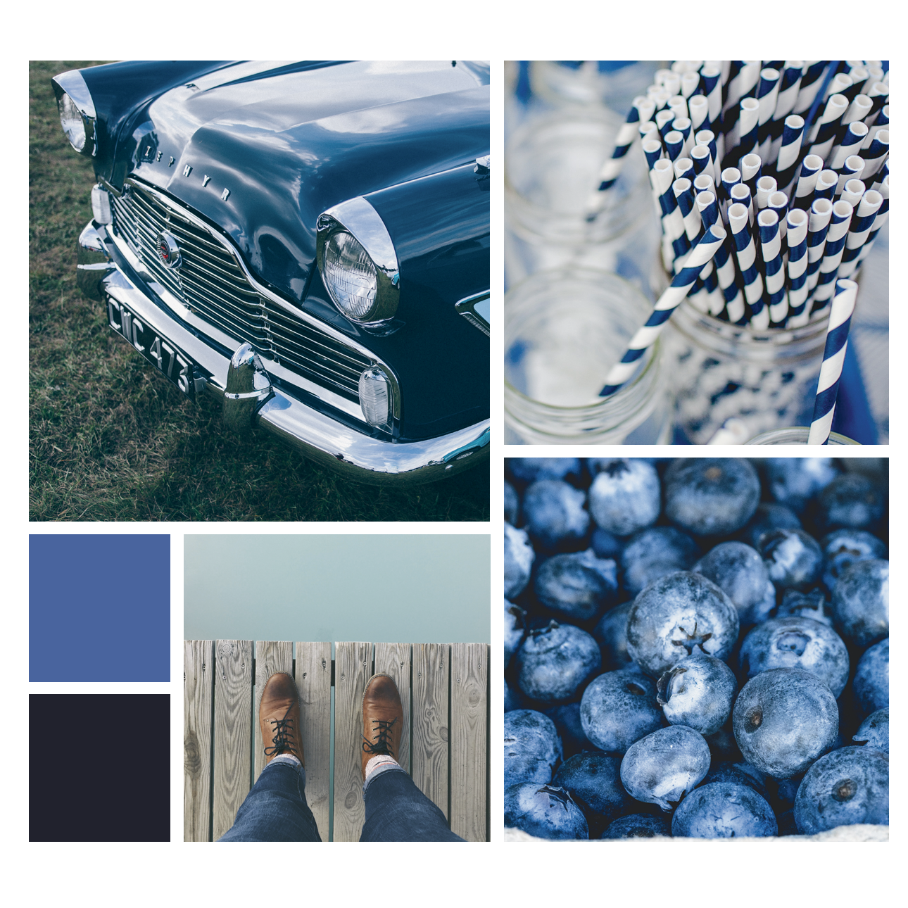 tendance blue is the new black