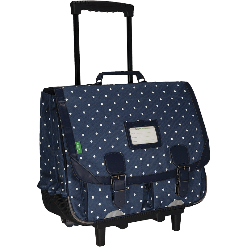 Cartable trolley 41 cm Angèle