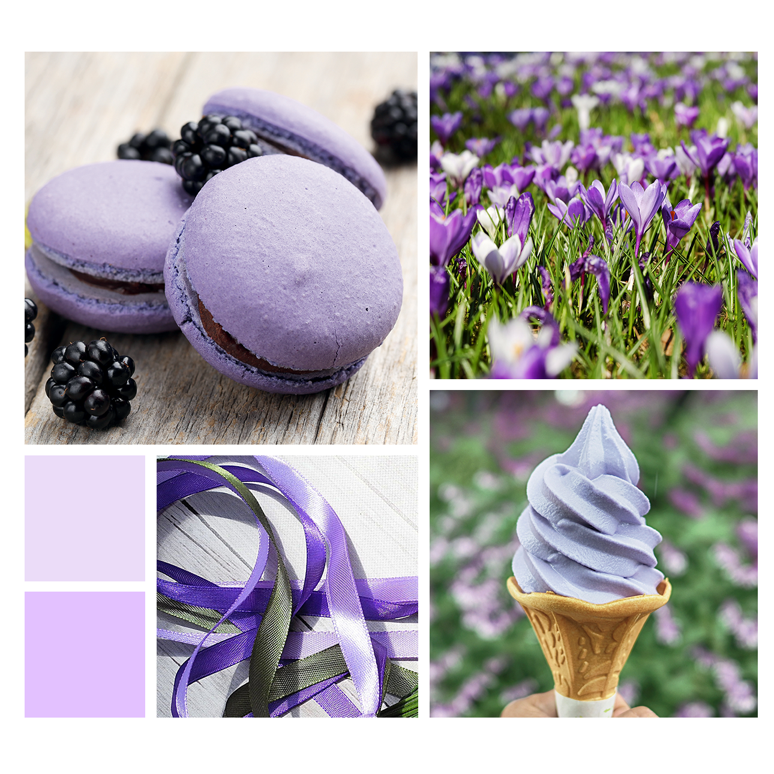 Tendre violet